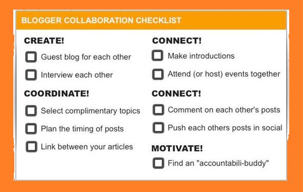 Collaborations Checklist